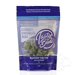 Tasty Buds Non-medicated Gourmet Chocolate Buds 4oz - Blueberry. TASTY-BLU-112