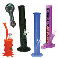 All Silicone Bongs & Pipes