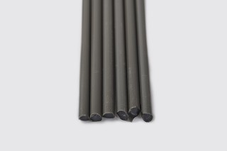 Chinese Dark Gray Rod (sold by the pound)