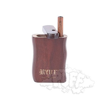 Ryot Small Walnut Wooden Dugout With Poker & Matching Taster Bat.  D-21WAL-MT