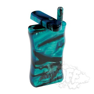 Ryot Large Green Acrylic Dugout With Poker & Matching Taster Bat.  D-23GRN-MT