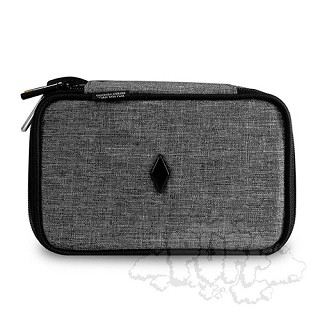 "Vatra 7"" Domino Case - Woven Grey.  VAT-DM3-WGRY"