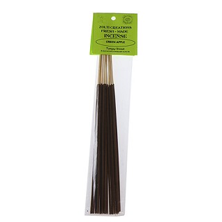 Zolti Creations Fresh Made Incense - Green Apple.  FM-GRA