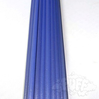 Greasy Glass Purple Satin Rod (Per Pound).  GRS-R-PSATIN