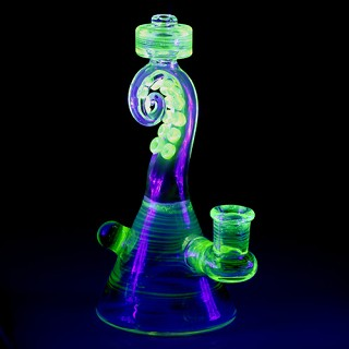 Lerma Glass UV Illuminati Tentacle Tube  LGA-450