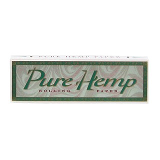 "Single Pack Pure Hemp 1.25"" Rolling Papers. S-PURE-1.25"