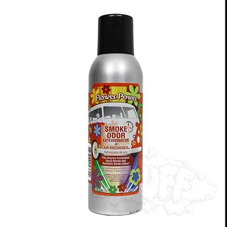 Smoke Odor Exterminator Spray - Flower Power.  SOS-FLW