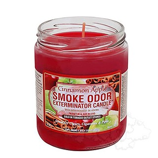 Smoke Odor Exterminator Candle - Cinnamon.  SOC-CIN