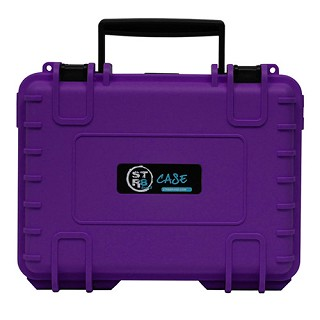 "STR8 Case Purple 10"" W/ 3 Layer Foam Interior STR8-10L-PUR"