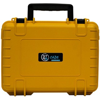 "STR8 Case Yellow 10"" W/ 3 Layer Foam Interior. STR8-10L-YEL"