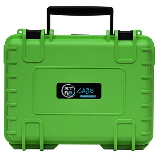 "STR8 Case Green 10"" W/ 2 Layer Foam Interior STR8-10S-GRN"