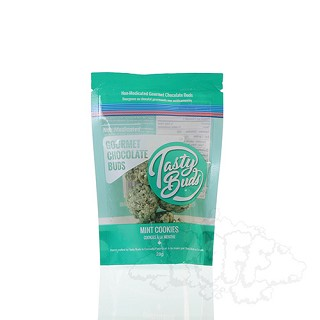 Tasty Buds Non-medicated Gourmet Chocolate Buds 1oz - Mint. TASTY-MIN-28