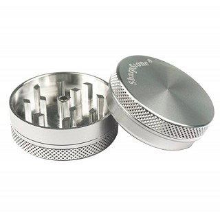 Sharpstone Grinder 2 Piece Silver Small 2.2""