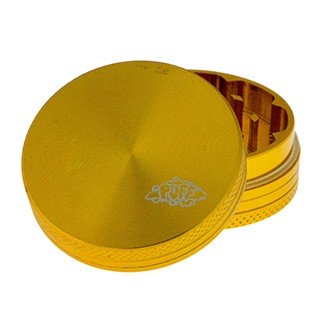2 Piece Puff Grinder 40mm Gold. BL-700XS-GLD
