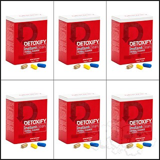 Save 10% Detoxify Instant Clean 6 Pack. DX-INSTANT-6PACK