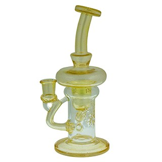 Phatt Ass Glass Incycler Mellow Yellow. PAG-700C