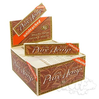 Pure Hemp Unbleached King Size Rolling Papers. PURE-UB-KING